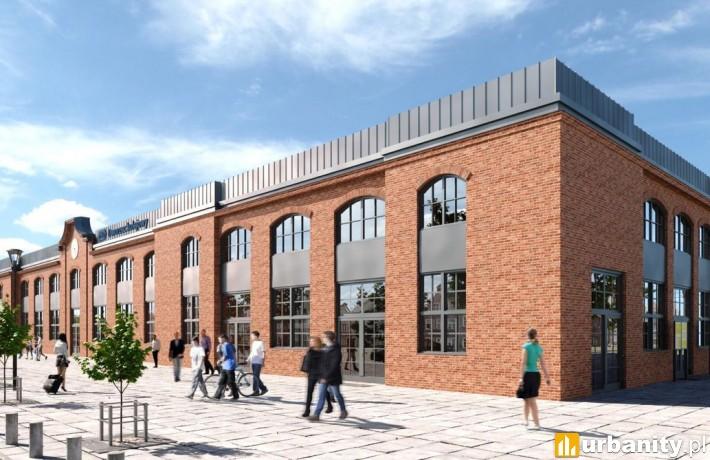 Projekt nowego dworca w Siedlcach