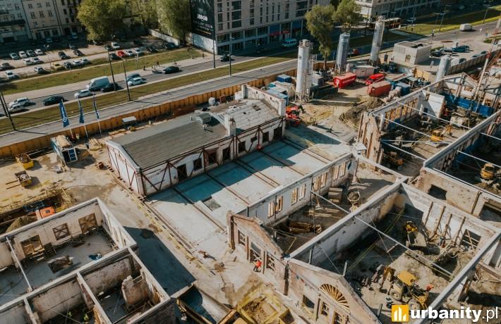 Postęp prac na budowie Fabryki Norblina