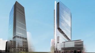 Pierwotna koncepcja wieżowca Liberty Tower