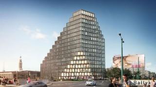 Zaczyna się najciekawsza część budowy biurowca Bałtyk w Poznaniu