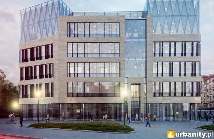 Projekt biurowca Wrocław 101