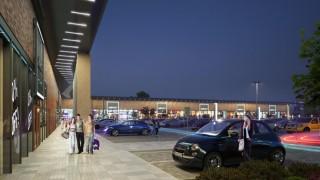 Grudziądz z nowym centrum handlowym w miejsce supermarketu Auchan