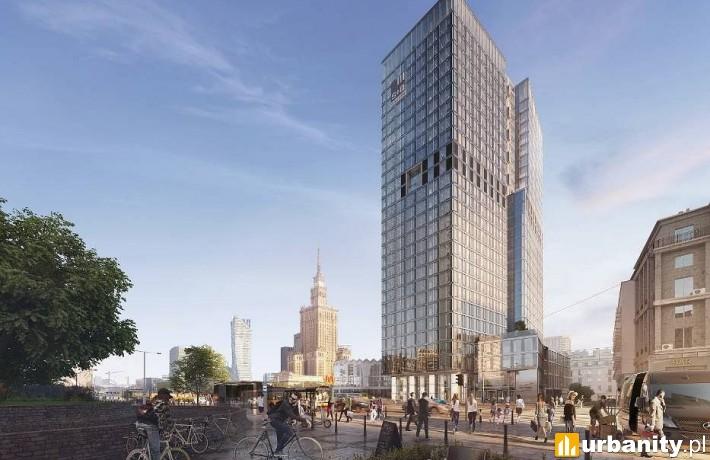 Inwestycja Widok Tower w Warszawie - wizualizacja