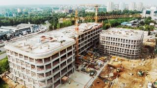 Wiecha na budowie biurowca DL Center Point II