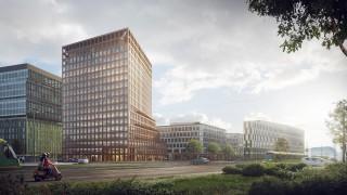 Budynek E kompleksu Nowy Rynek w Poznaniu - wizualizacja