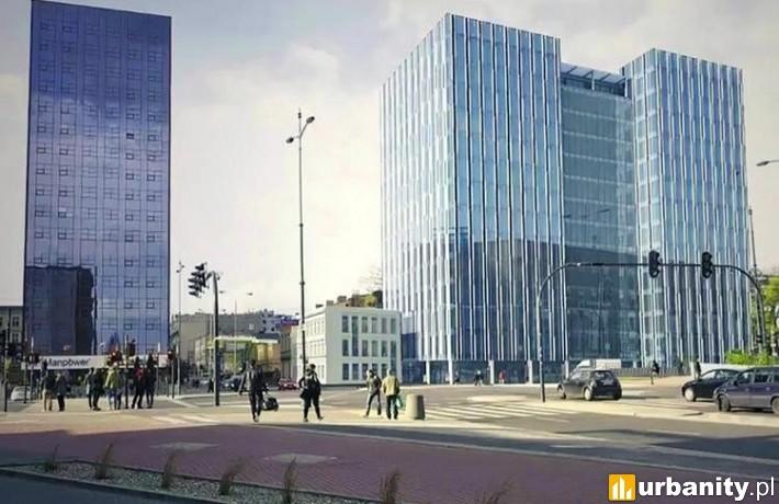 Koncepcja zagospodarowania działki przy ulicy Piłsudskiego 22 w Łodzi