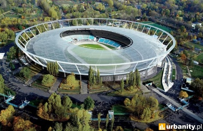Projekt zadaszenia Stadionu Śląskiego