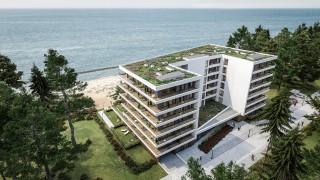 Rośnie Nautic Park - nadmorski apartamentowiec z widokiem na Bałtyk w Darłowie
