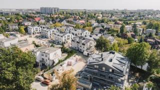 Postęp prac na budowie projektu Nova Stoczniowa - październik 2020 r.