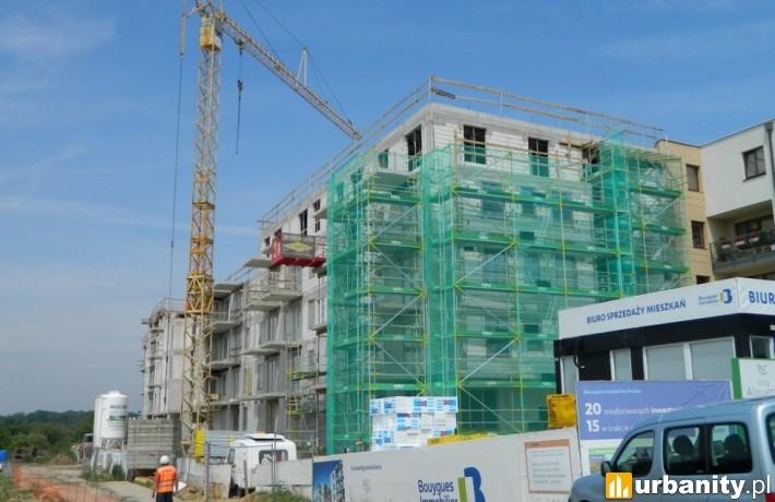 Postęp prac na budowie inwestycji Villa Alouette