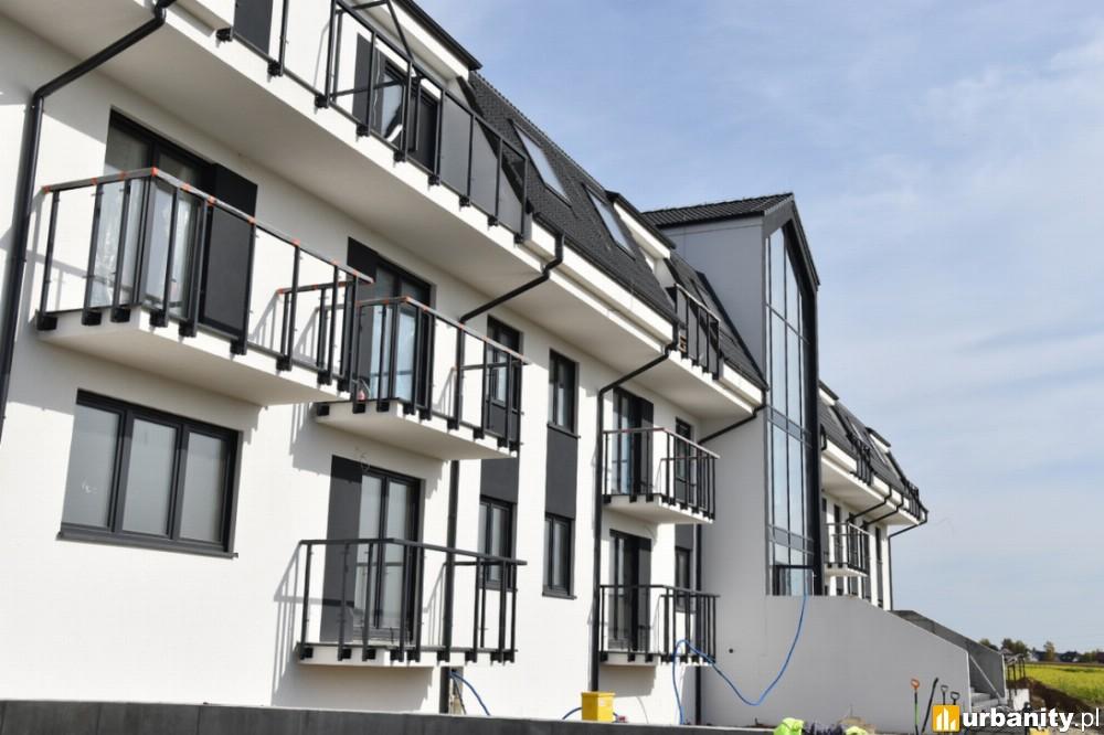 Kończy się budowa mieszkań w Zalasewie pod Poznaniem
