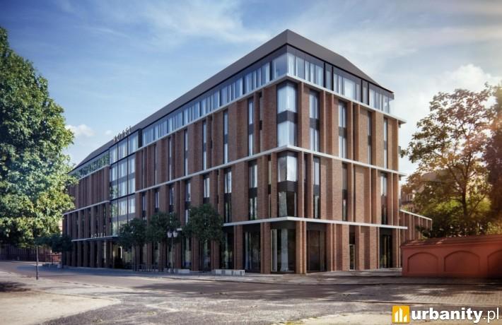 Projekt hotelu, który stanie na placu Katedralnym