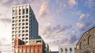 Łódź: Nowy budynek wkomponowany w fabrykę, a w nim m.in. penthouse'y