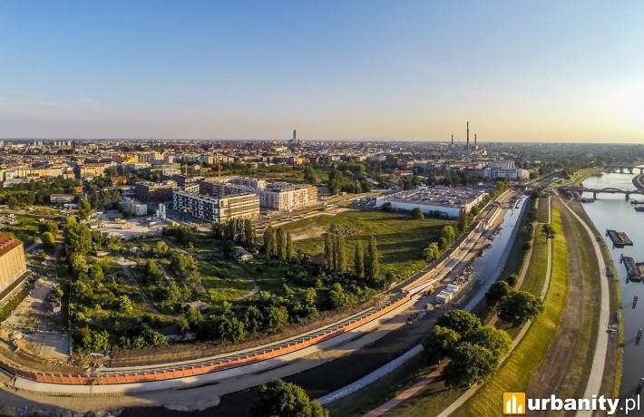 Tak obecnie wygląda stan inwestycji Promenady Wrocławskie