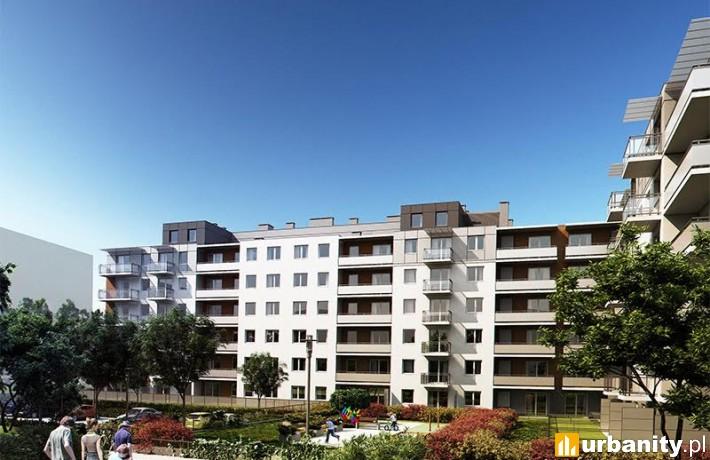 Projekt budynku Siena przy Zakładowej we Wrocławiu