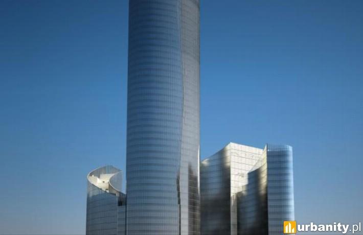 Projekt wieżowca Sky Tower we Wrocławiu
