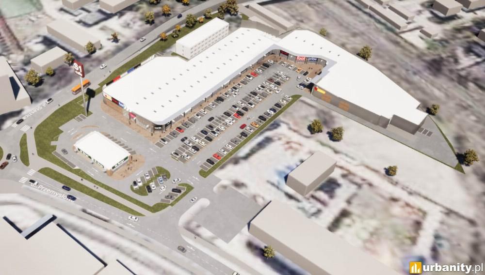 Na początku 2021 roku otwarcie parku handlowego w Nowej Soli