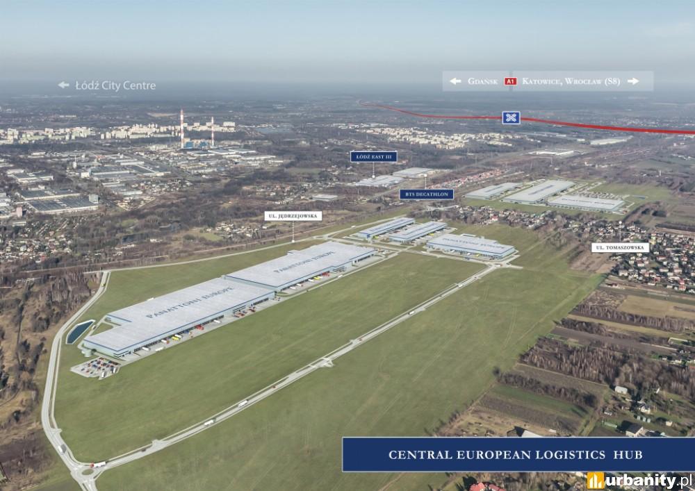 W Łodzi powstaje fabryka o powierzchni prawie 60 000 mkw.
