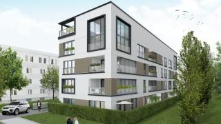 Wizualizacja inwestycji Moxo House w Warszawie