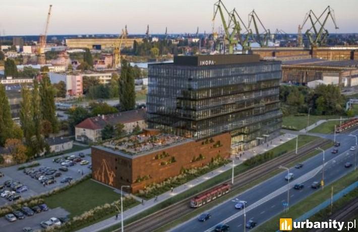 Wizualizacja biurowca C300 Office w Gdańsku