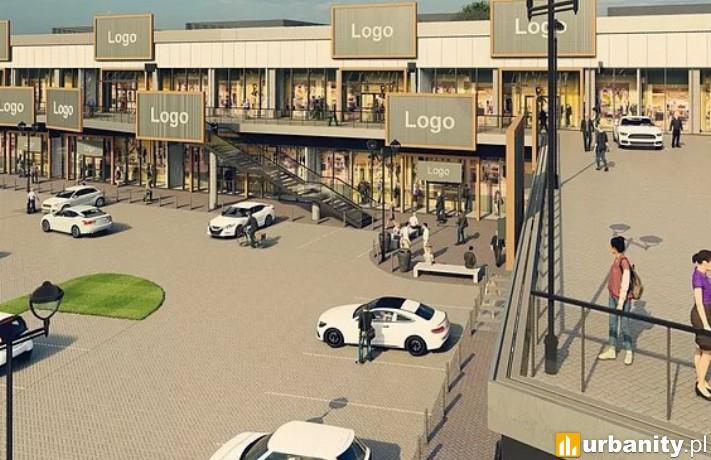 Projekt nowego centrum handlowego w Dzierżoniowie