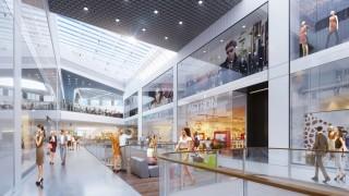 Projekt wnętrz przyszłej Galerii Libero