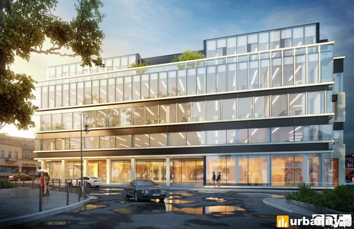 Projekt biurowca Immobile K3 w Bydgoszczy