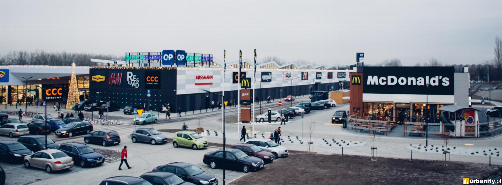 Punkt Poczty Polskiej w Quick Park Mysłowice