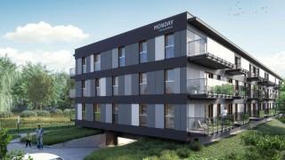 Wizualizacja inwestycji Zielony Sołacz w Poznaniu