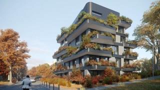 Budynek przy ulicy Drzymały 27 w Poznaniu - projekt