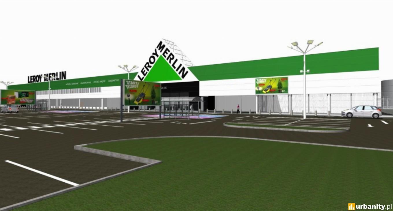W Kutnie rozpoczyna się budowa marketu budowlanego Leroy Merlin