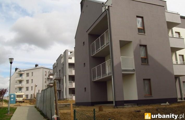 Szczecińskie osiedle Sienno przy ulicy Łącznej (fot. el_bartez)