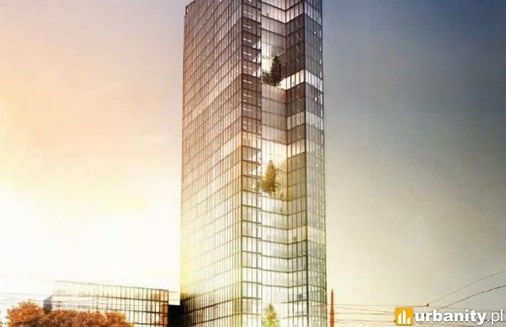 Projekt wieżowca przy Okopowej