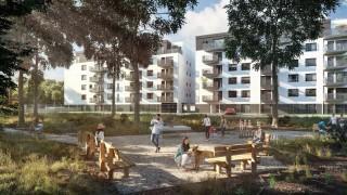 Projekt osiedla Wyspiarska Forêt