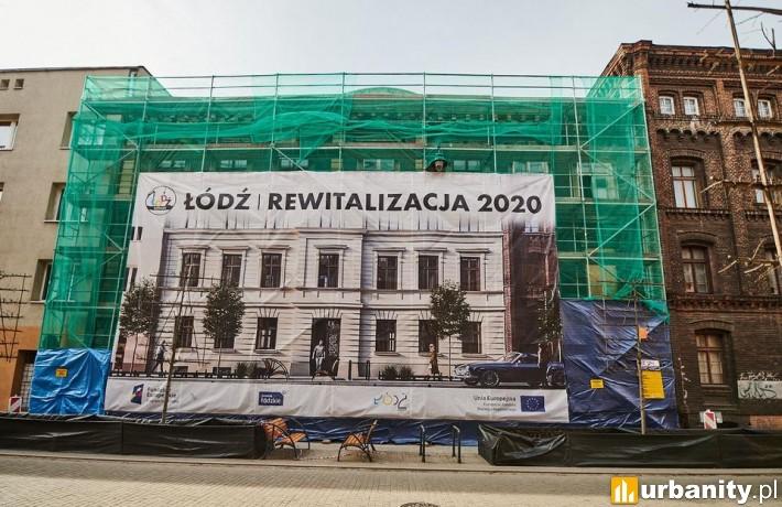 Remont kamienicy przy Gdańskiej 1 w Łodzi (fot. UMŁ)