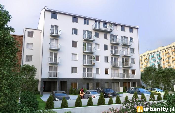Wizualizacja budynku Atrium Sielska 22 w Poznaniu