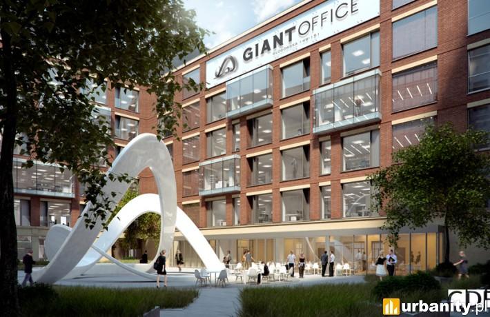 Giant Office - koncepcja architektoniczna pracowni CDF Architekci