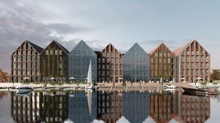 Biurowiec Porta Mare w Elblągu - wizualizacja