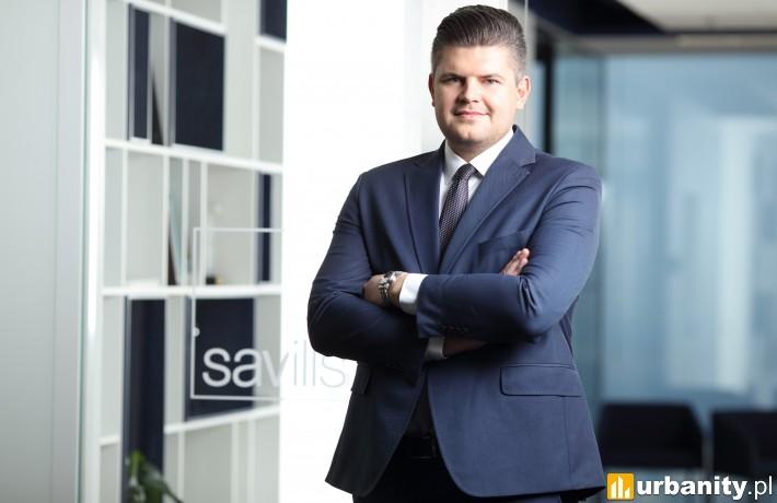 Daniel Czarnecki, dyrektor działu powierzchni biurowych, reprezentacja wynajmującego, Savills