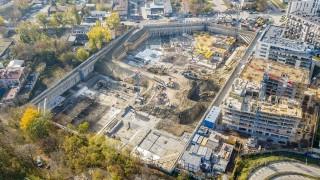 Budowa kompleksu Forest w Warszawie - listopad 2019 r.