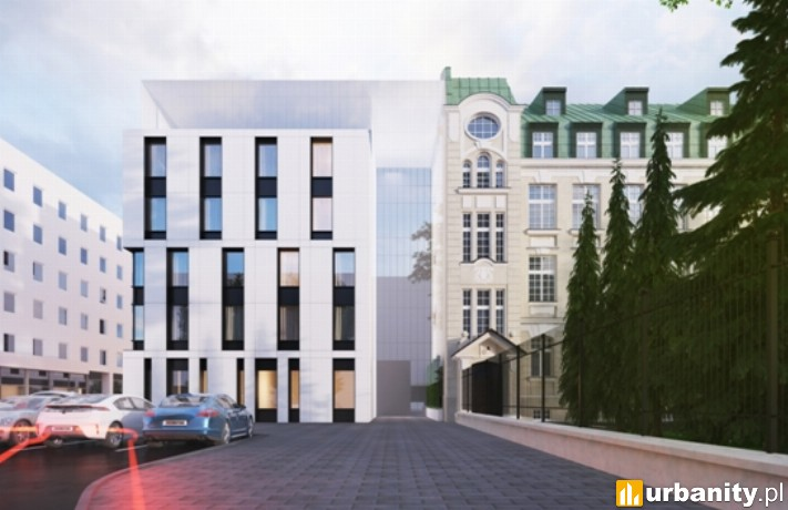 Wizualizacja hotelu IBIS Styles w Warszawie