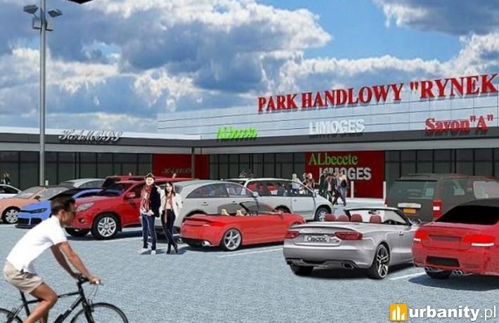 Park Handlowy Rynek w Zawierciu - wizualizacja