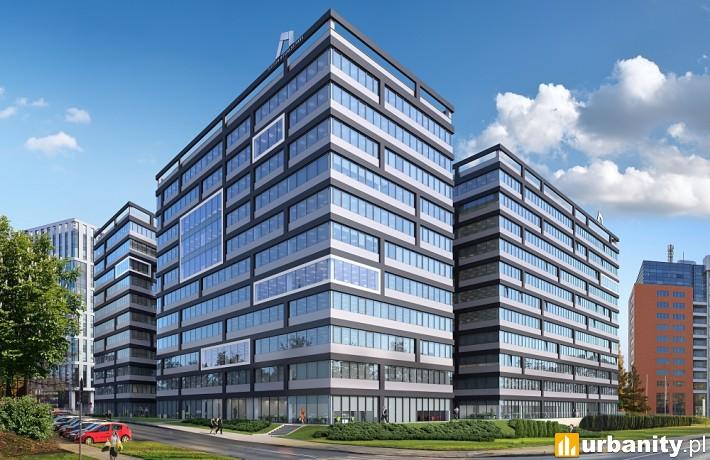 Kompleks Tertium Business Park w dzielnicy Prądnik Czerwony