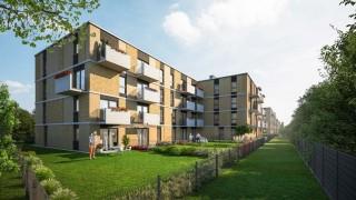 Apartamenty Ostródzka w Warszawie - wizualizacja