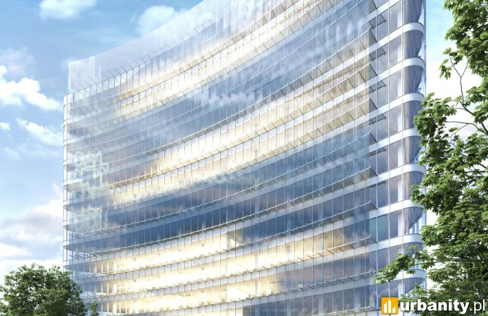 Projekt biurowca Carbon Tower we Wrocławiu