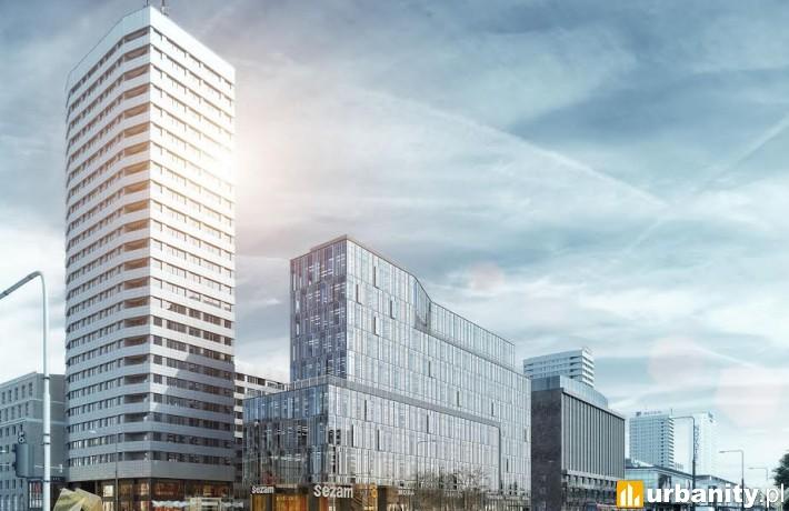 Wizualizacja projektu Centrum Marszałkowska w Warszawie