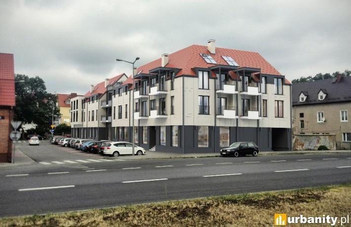 Projekt budynku mieszkalnego w Koninie