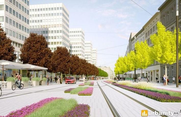 Tak wyglądała będzie ulica po przebudowie