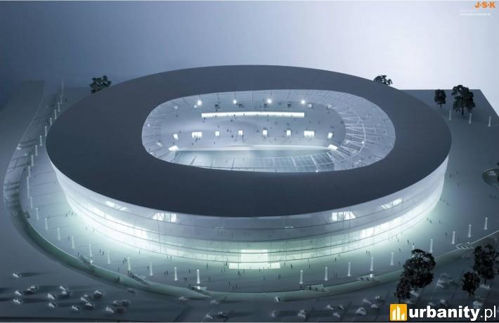 Projekt stadionu miejskiego we Wrocławiu