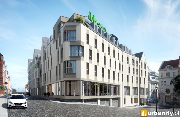Tak prezentował się będzie hotel przy ulicy Panieńskiej